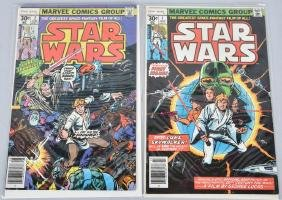 MARVEL STAR WARS #1 & #2 COMIC BOOKS