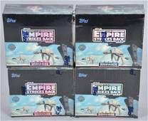 4- TOPPS STAR WARS ESB WIDEVISION CARDS SEALED BOX