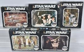 5- 1977 KENNER STAR WARS PUZZLES