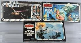 3- ORIGINAL KENNER STAR WARS & ESB BOARD GAMES