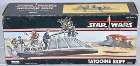 1985 STAR WARS POTF TATOOINE SKIFF MIB