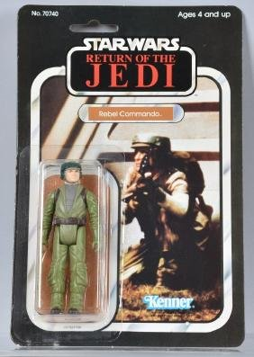 1983 STAR WARS ROTJ REBEL COMMANDO 65B MOC