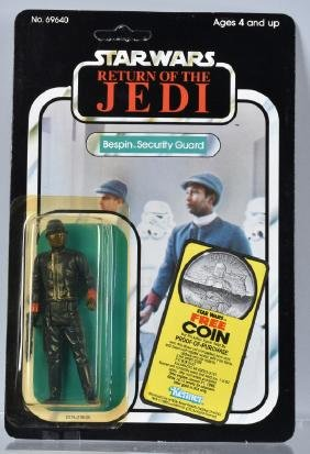 1983 STAR WARS ROTJ BESPIN SECURITY GUARD 77A MOC