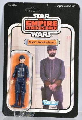 1980 STAR WARS ESB BESPIN SECURITY GUARD 32B MOC