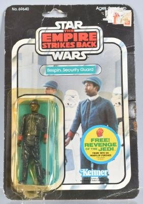 1980 STAR WARS ESB BESPIN SECURITY GUARD 48C MOC