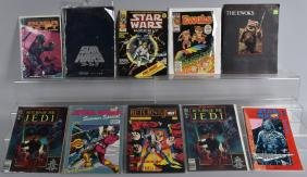 Lot of STAR WARS COMICS & FOREIGN MAGAZINES