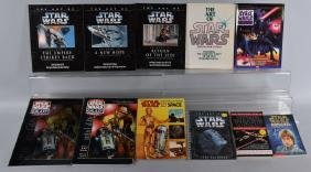 Large lot of STAR WARS BOOKS
