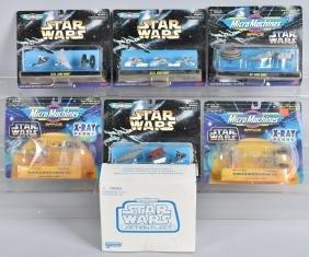STAR WARS MICRO MACHINES LOT MIB