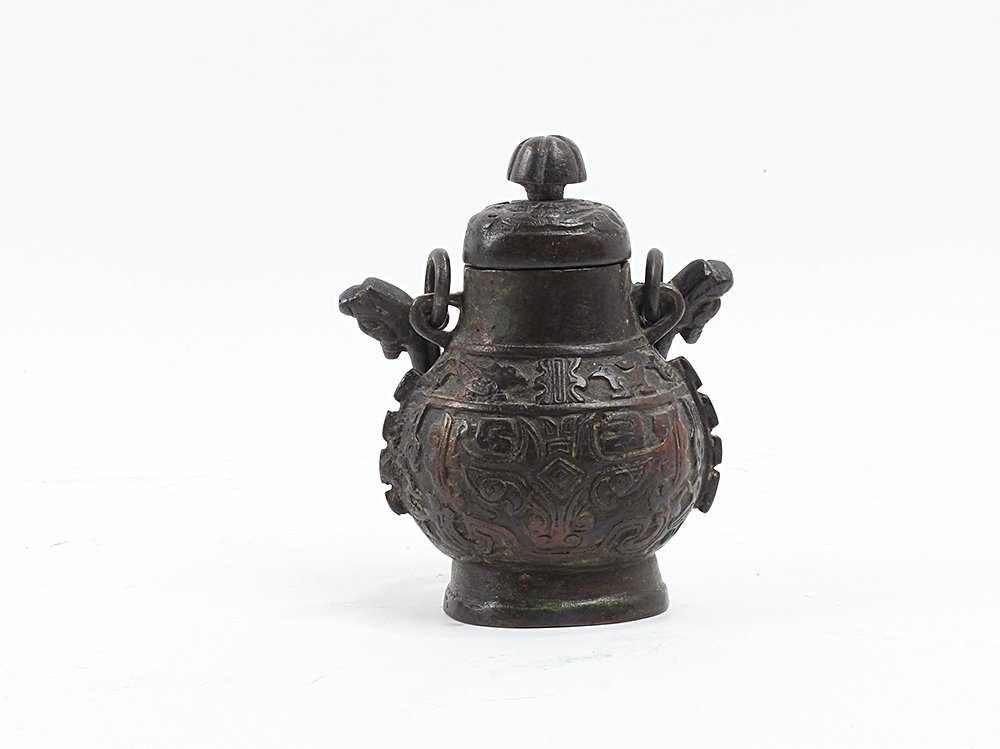 Small bronze vessel