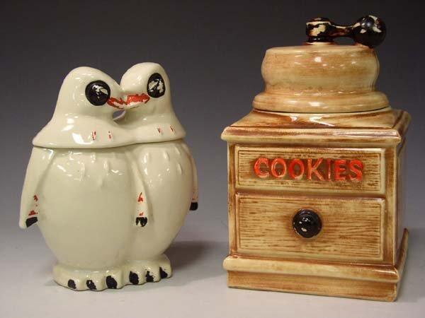 """209: Lot of 2 McCoy Cookie Jars """"AS IS"""""""
