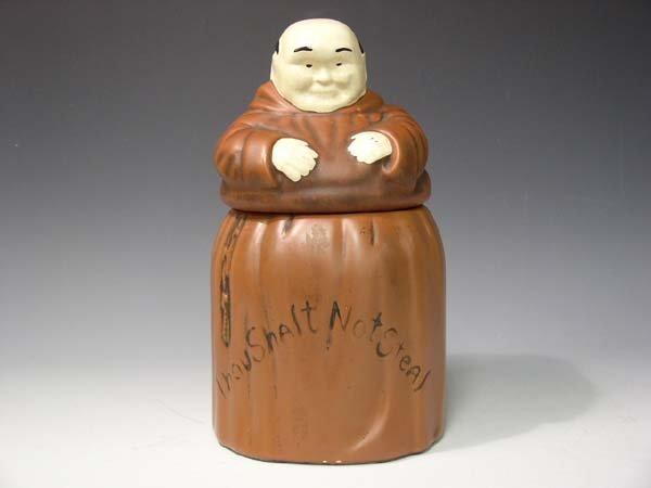 222: McCoy Monk Cookie Jar