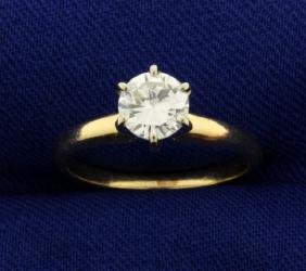 2/3 ct Solitaire Diamond Engagement Ring