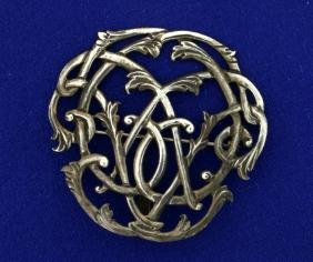 Vintage Sterling Silver Pin/Pendant