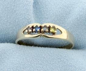 Multi-Color Gem Ring