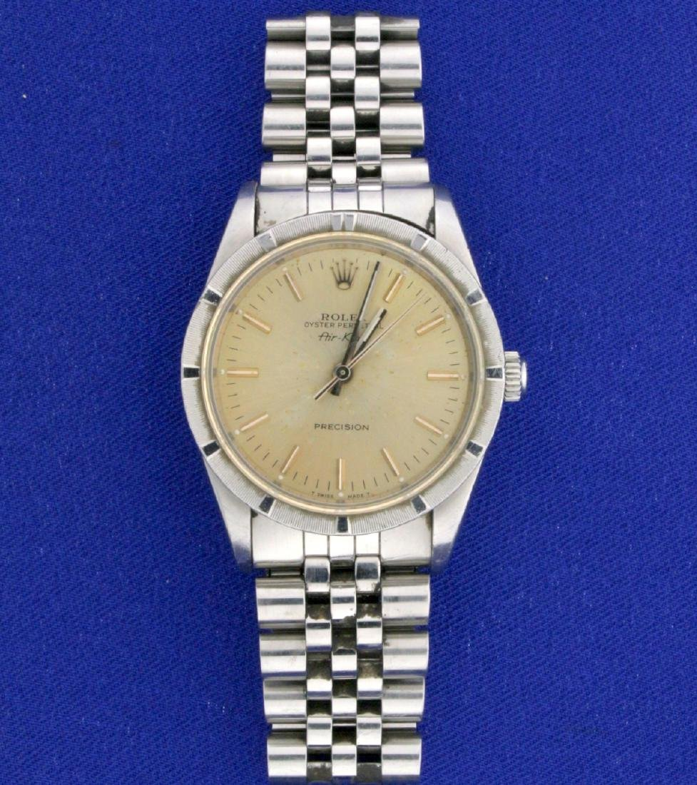 Vintage Rolex Air King Men's Watch