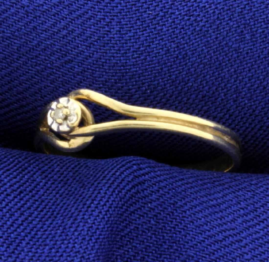 Diamond Promise Ring - 2