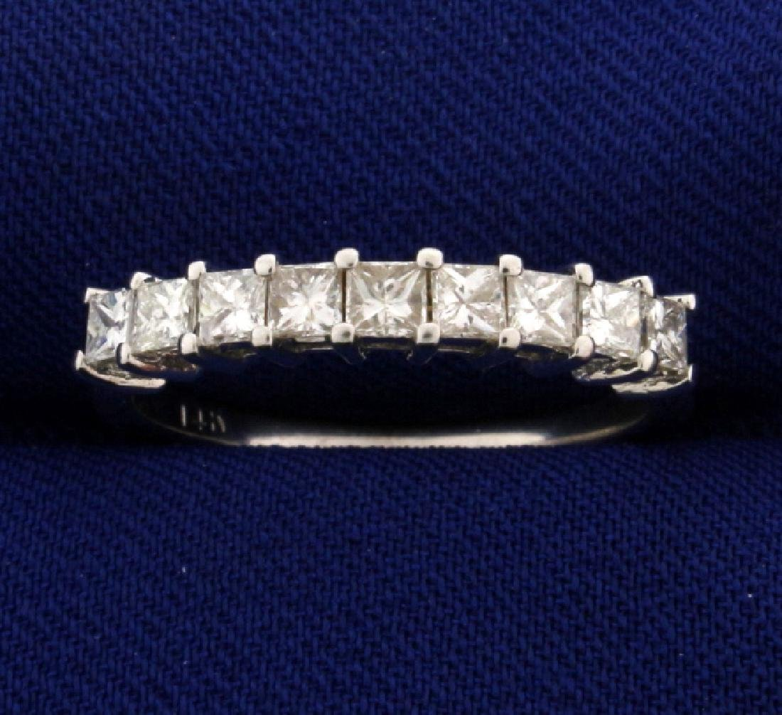 3/4ct TW Princess Cut Diamond Ring Band