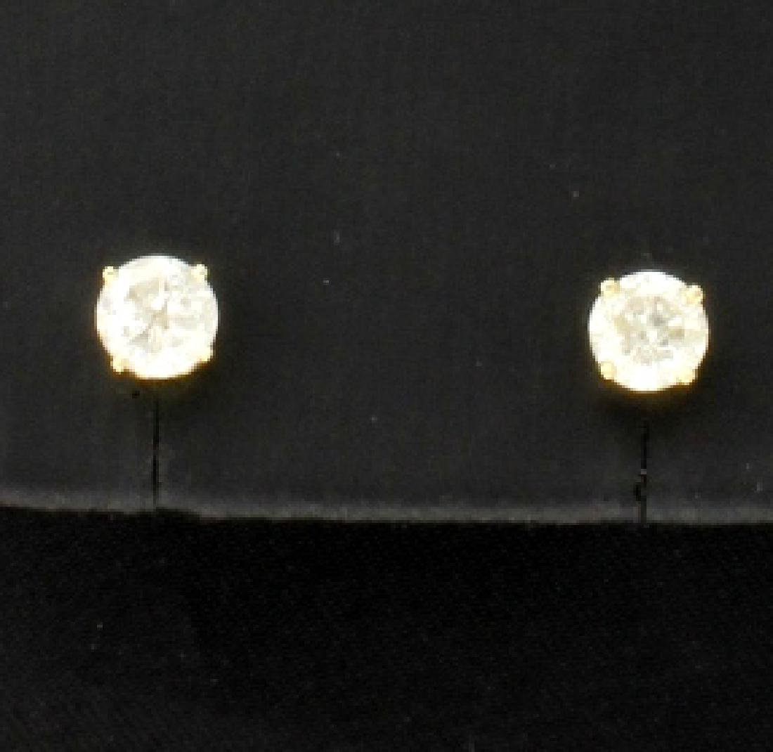 .9ct TW Diamond Stud Earrings