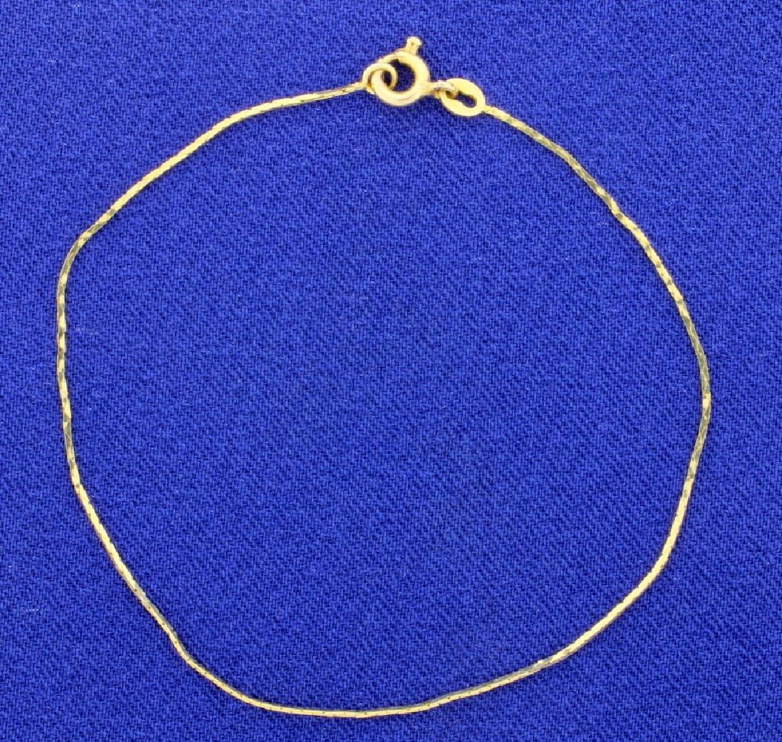 Italian Made Boston Link Bracelet