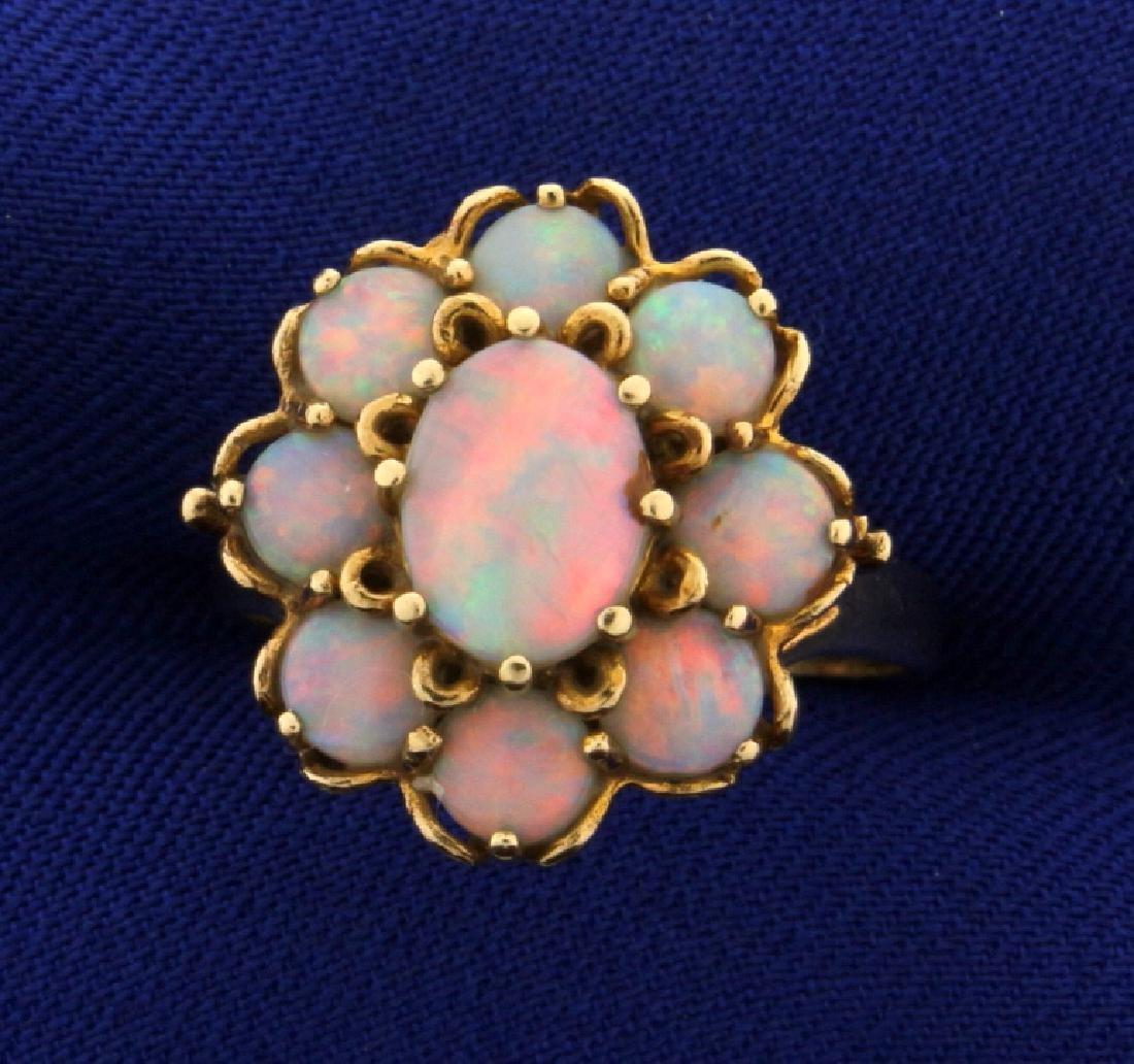 2 1/2ct Vintage Opal Ring