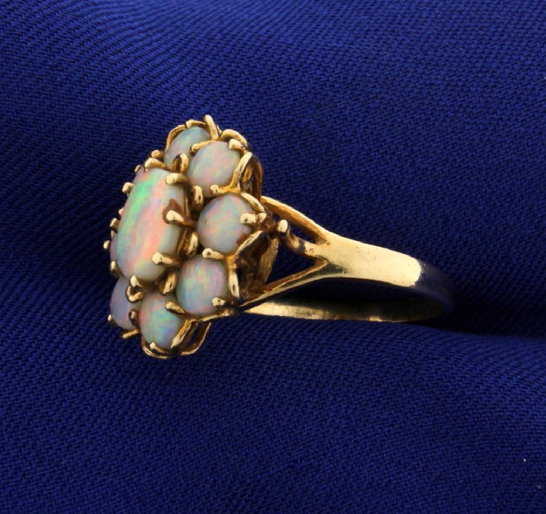 2 1/2ct Vintage Opal Ring - 2