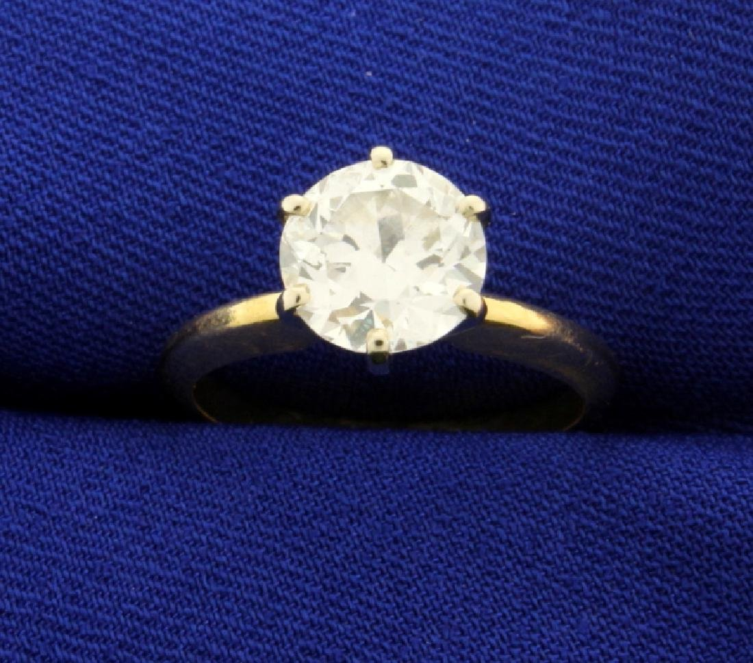 2 ct Solitaire Diamond Ring