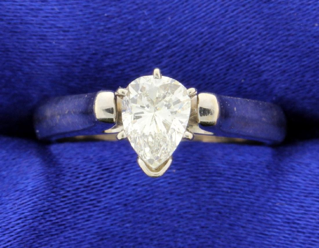 0.70 carat diamond Solitaire ring