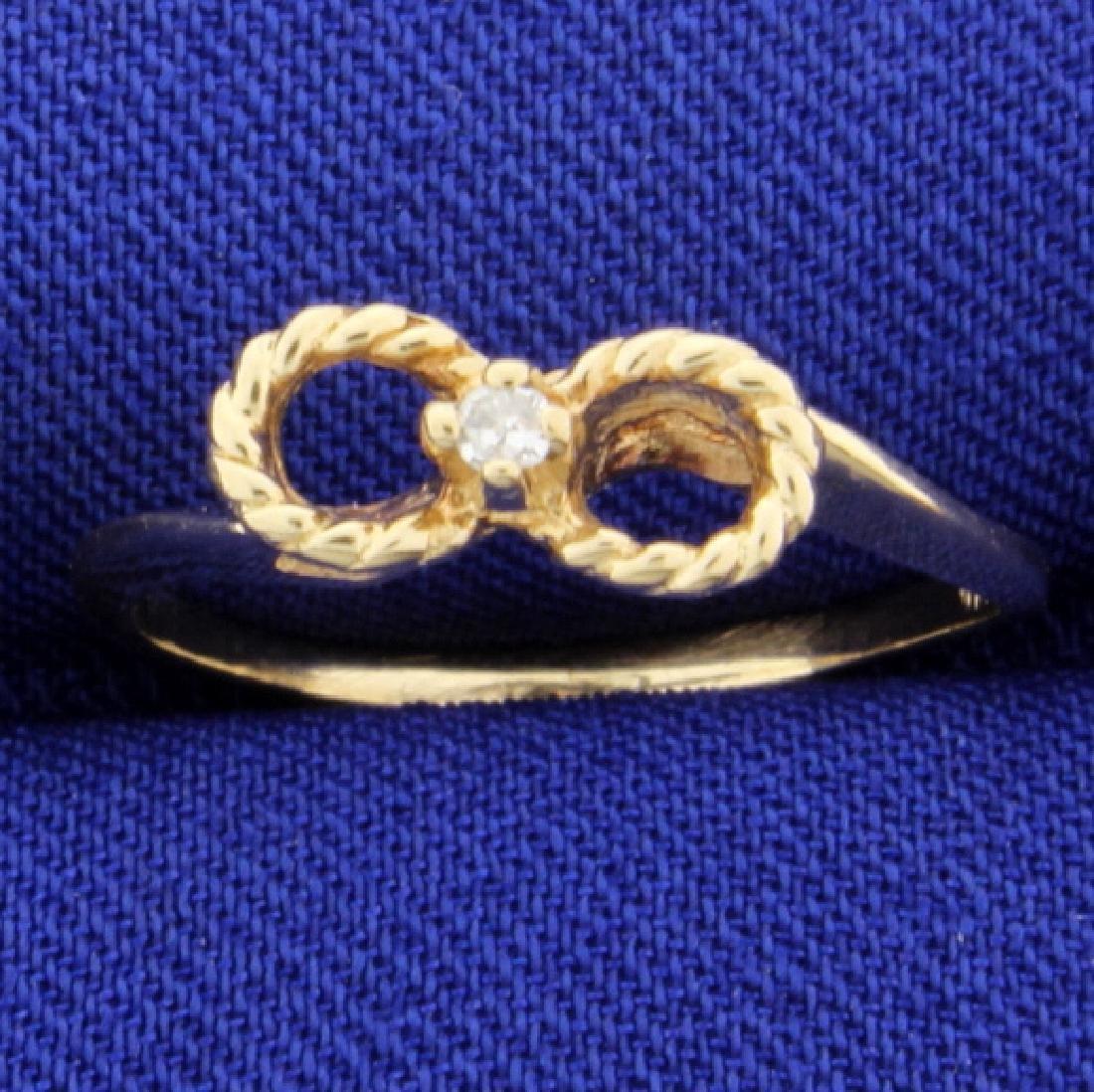 Diamond Ring Rope Style
