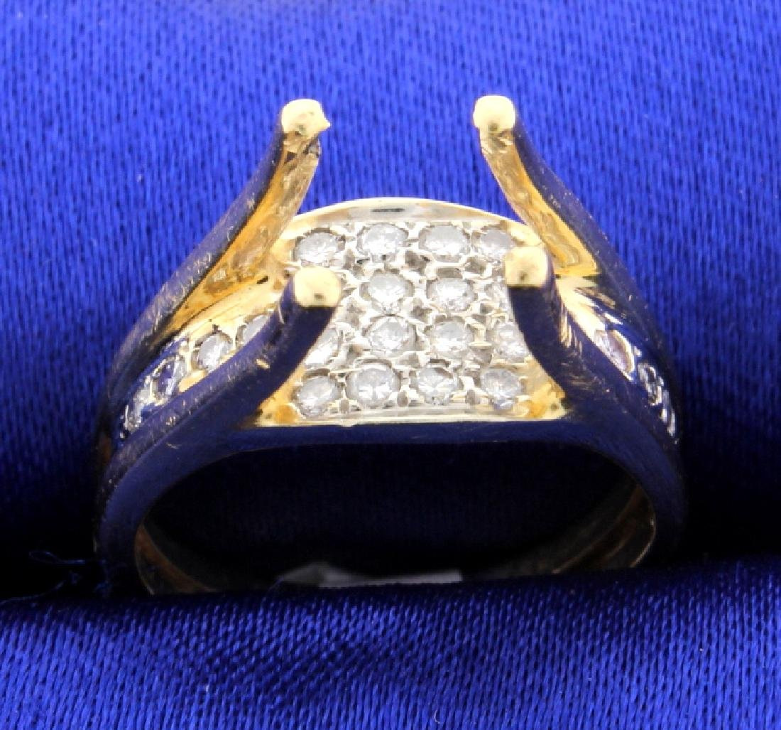 Unique Diamond Ring Mounting