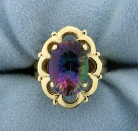 6ct Mystic Topaz Ring