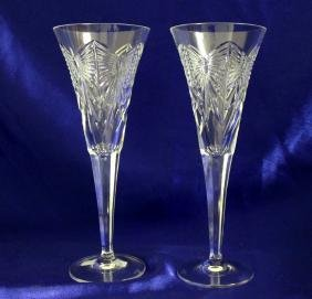 Waterford Millennium Series Fluted Crystal Champagne