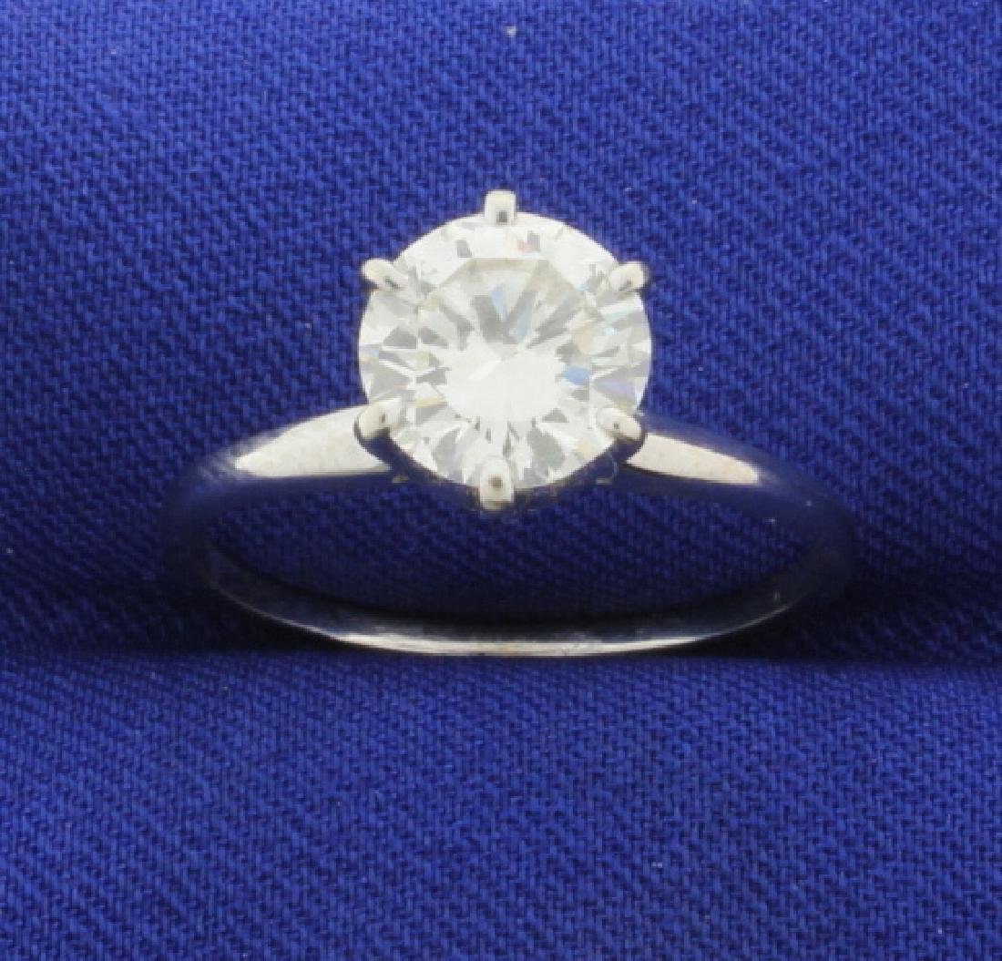 1.8ct Solitaire Diamond Ring
