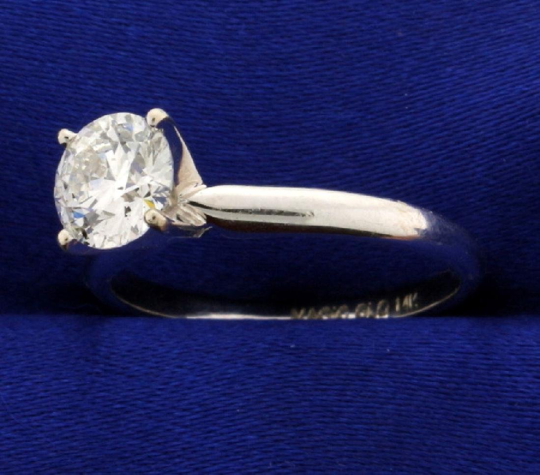 1ct Solitaire Diamond Engagement Ring - 2