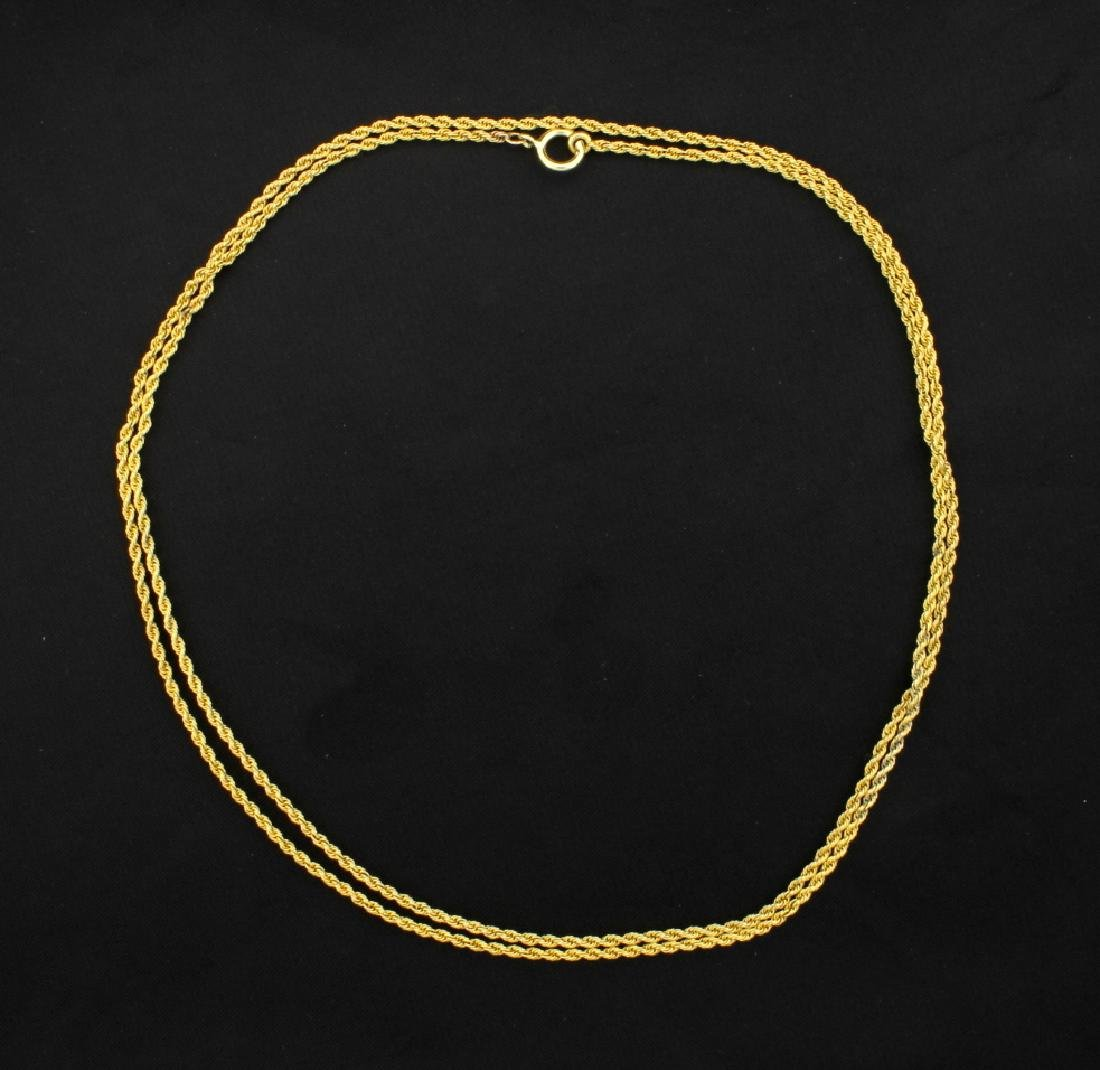 30 1/2 Inch Rope Style Chain