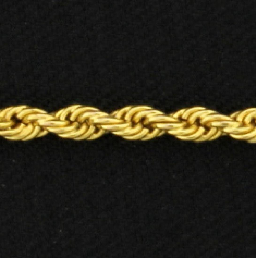 30 1/2 Inch Rope Style Chain - 2
