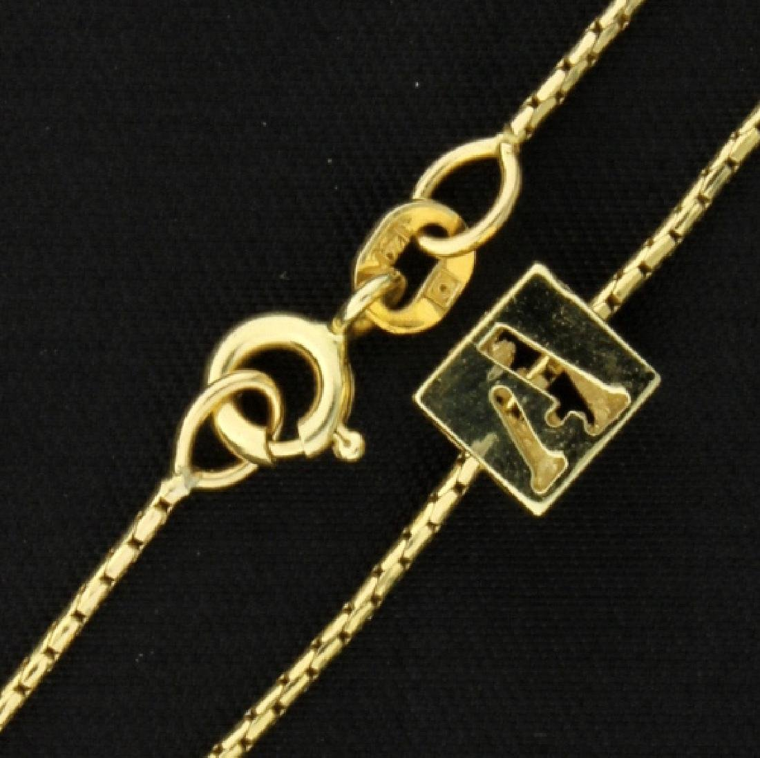 """A"" Necklace - 2"