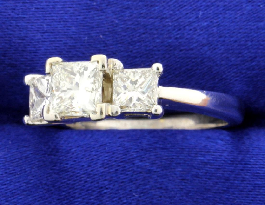 2.10 ct TW Three Stone Diamond Ring - 2