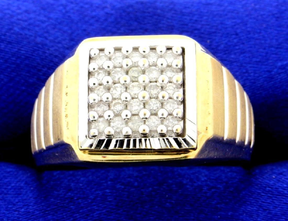 1/2 Ct TW Men's Diamond Ring