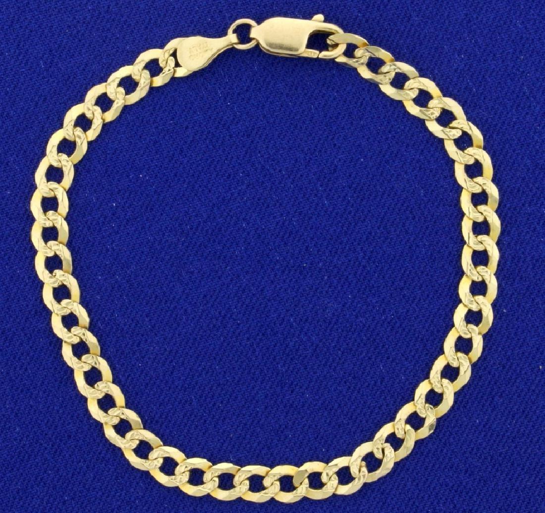 6 1/2 Inch Curb Link Bracelet