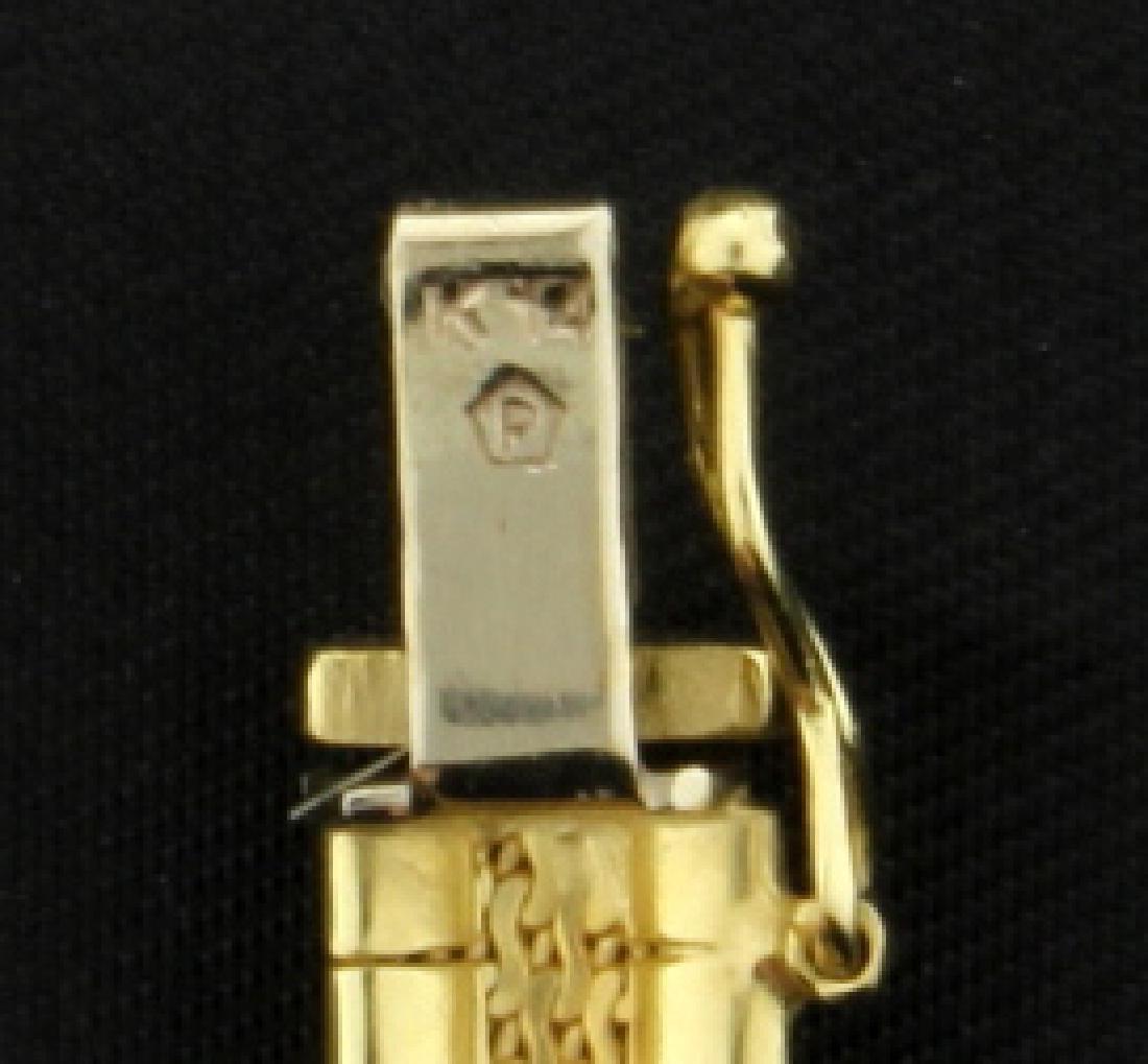 18 Inch Italian Made Omega Necklace - 3