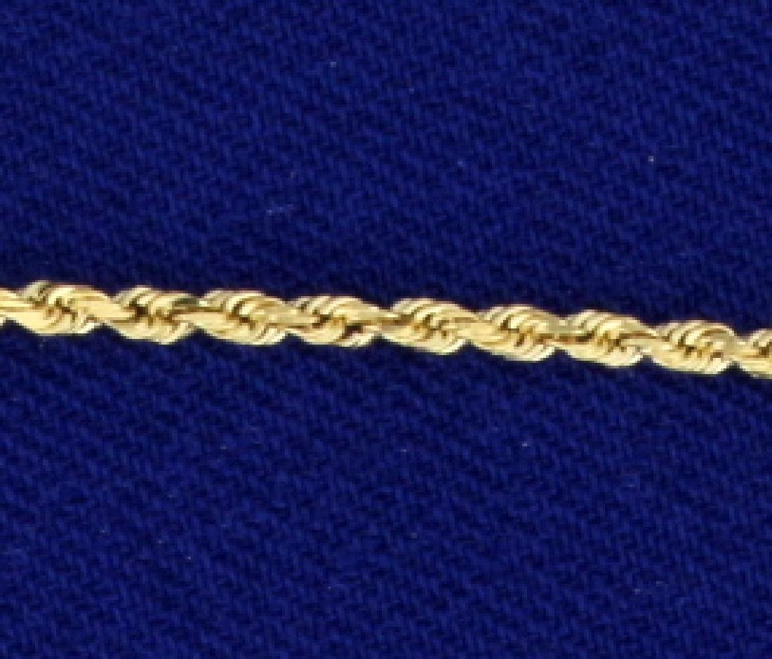 28 1/4 Inch Rope Style Neck Chain - 2