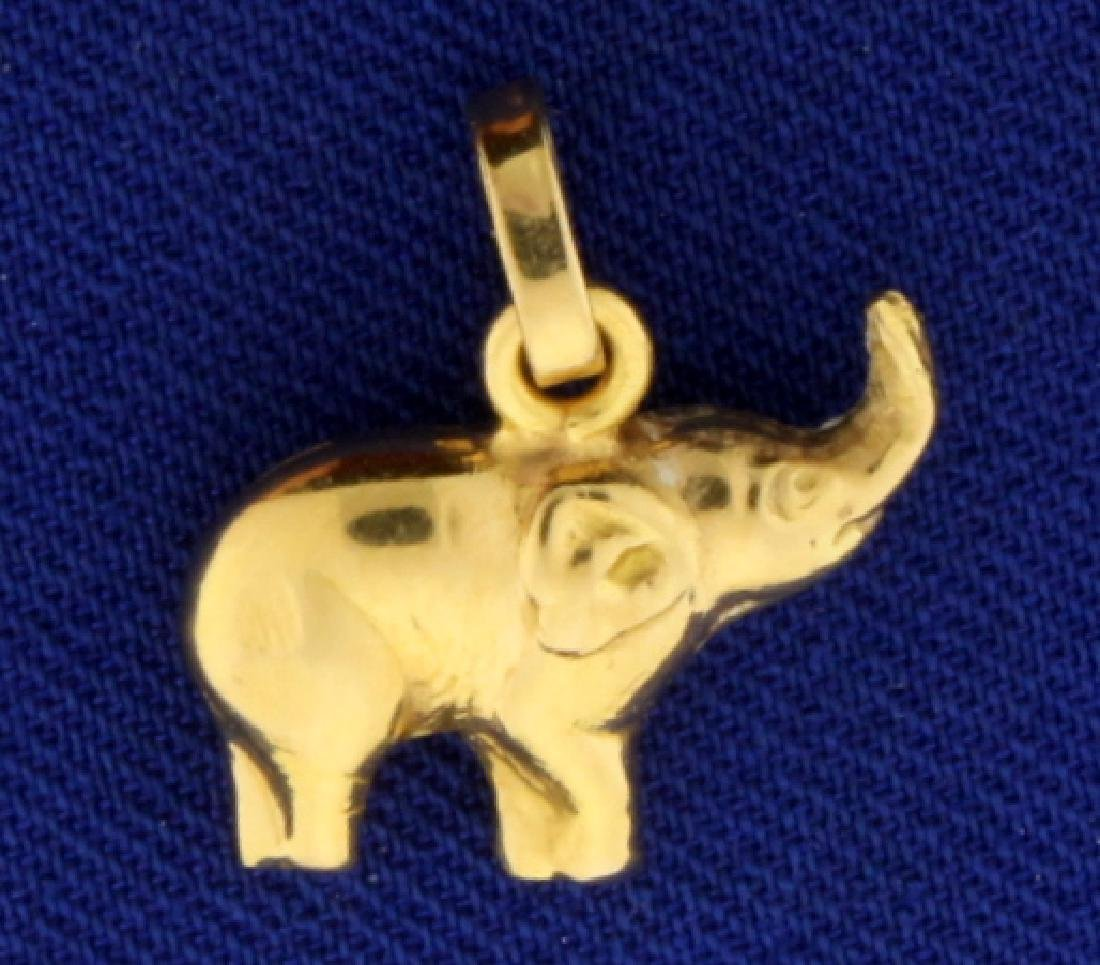 Elephant Charm or Pendant