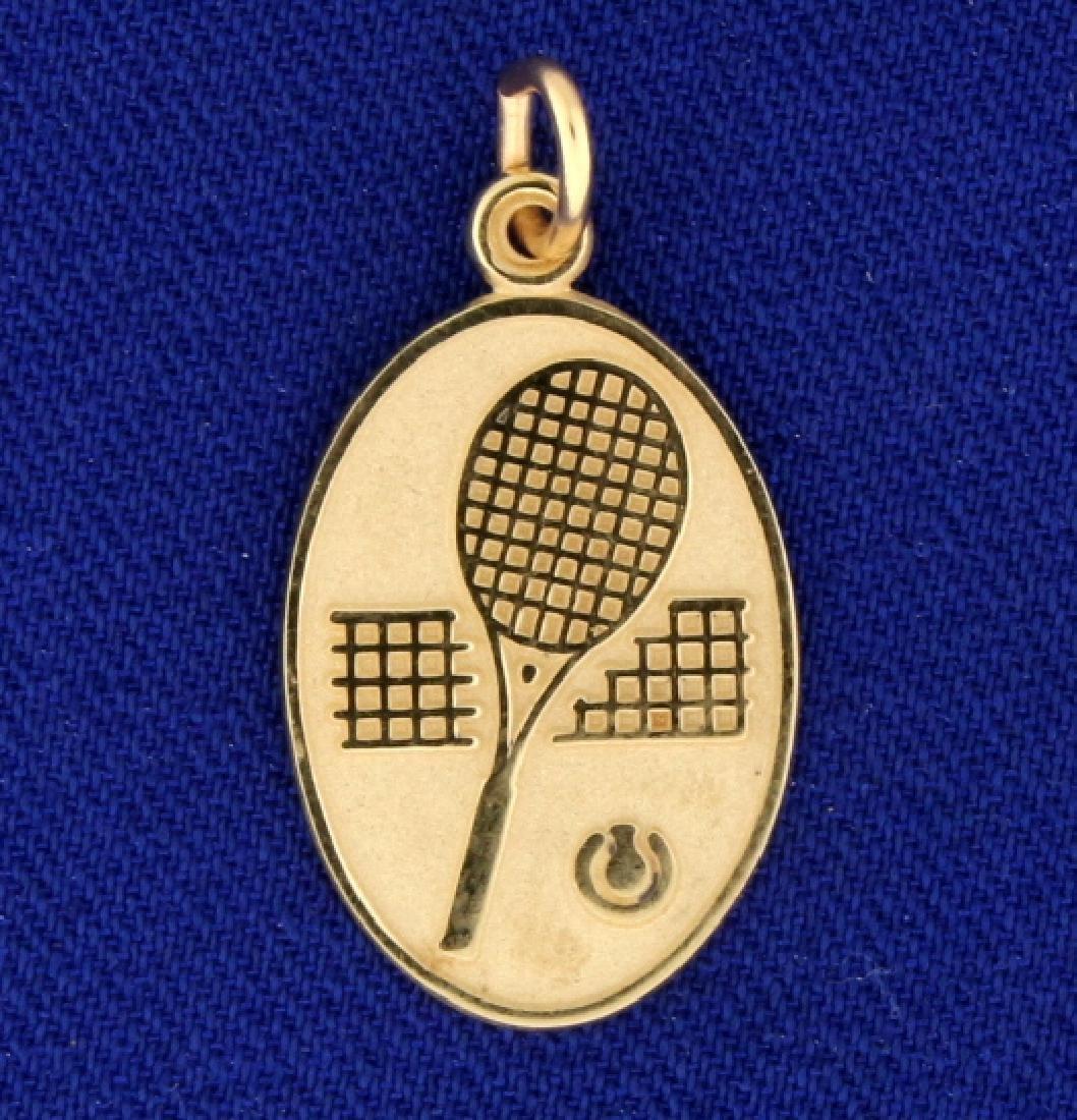 Tennis Pendant/Charm