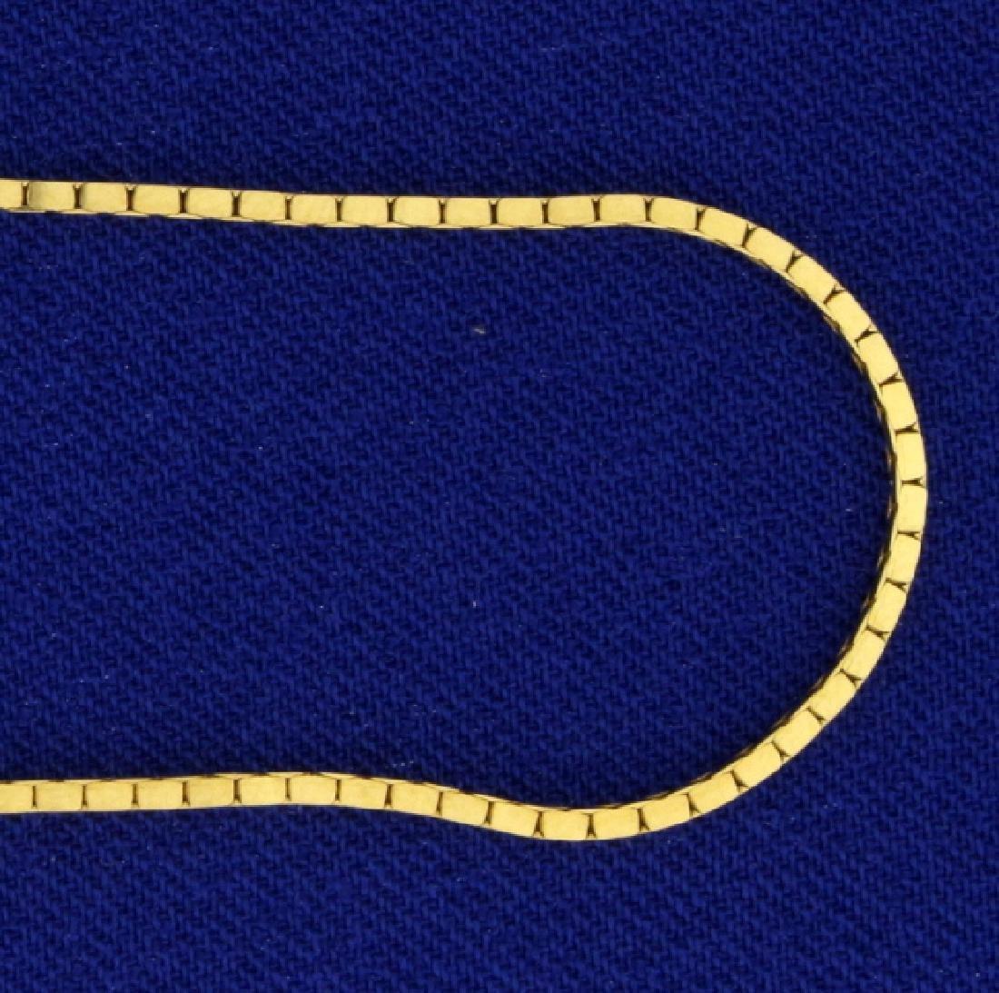 20 Inch 14k Box Chain - 2