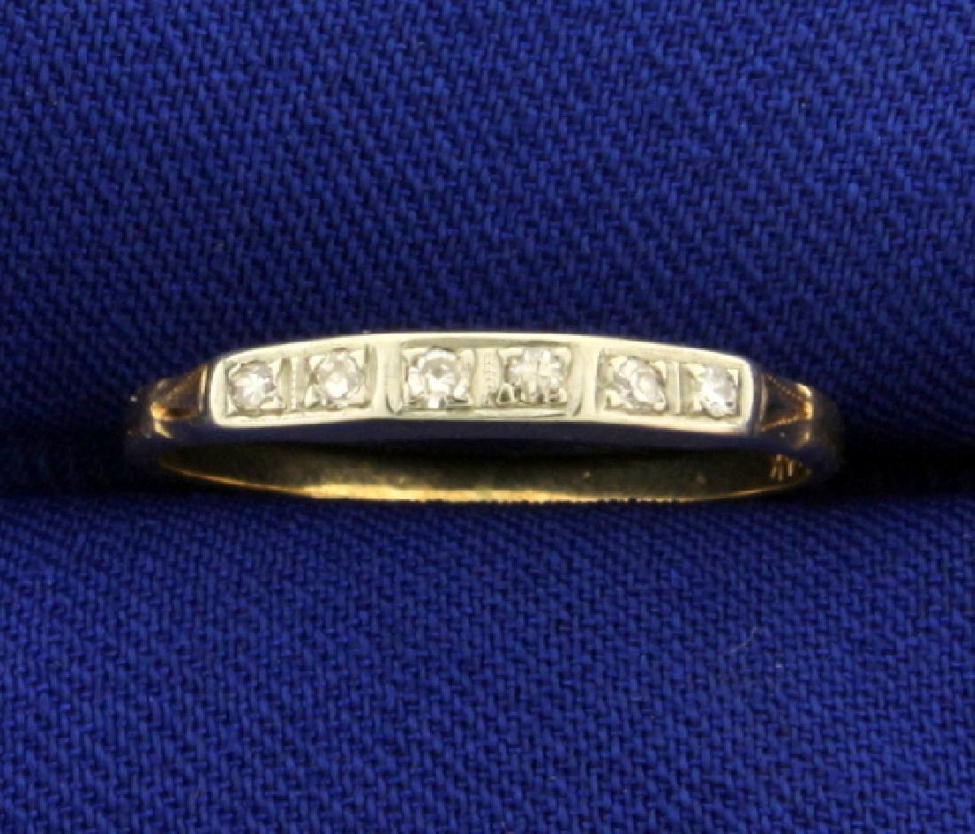 Vintage Diamond Band Ring