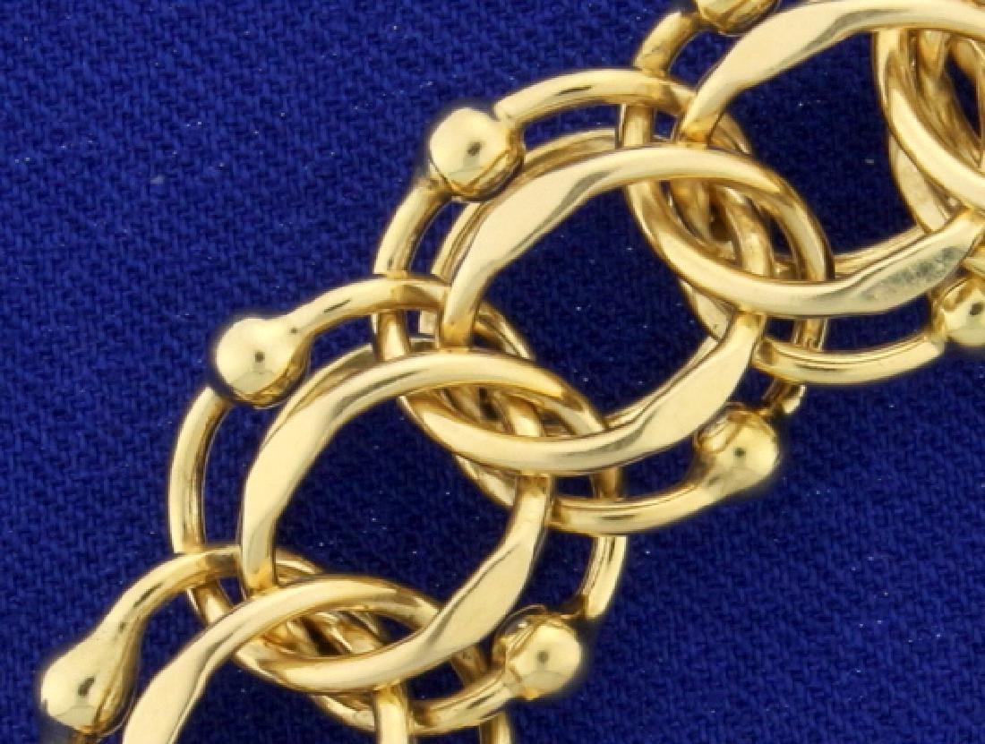 Thick 8 Inch Charm Bracelet - 2
