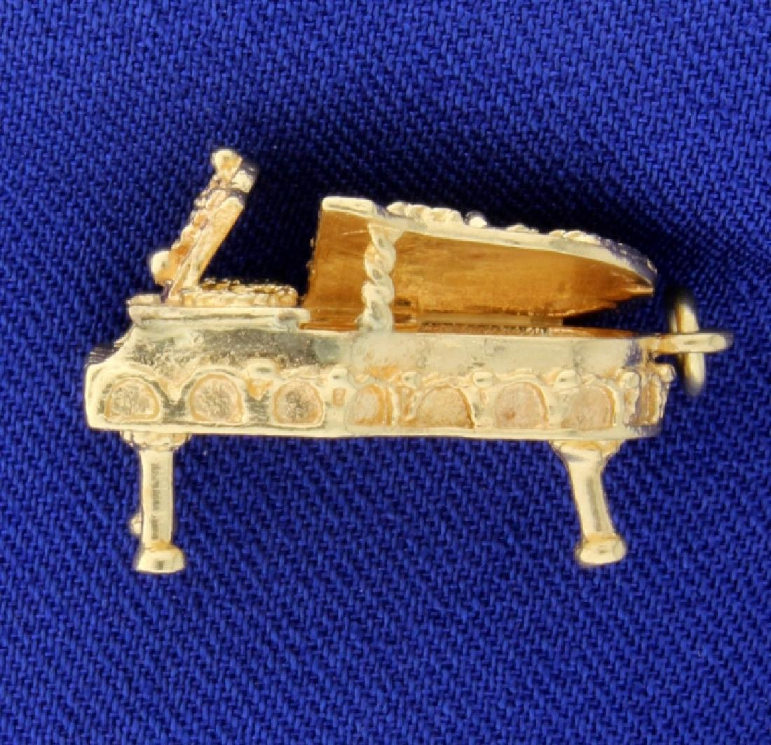 Piano Charm or Pendant - 2