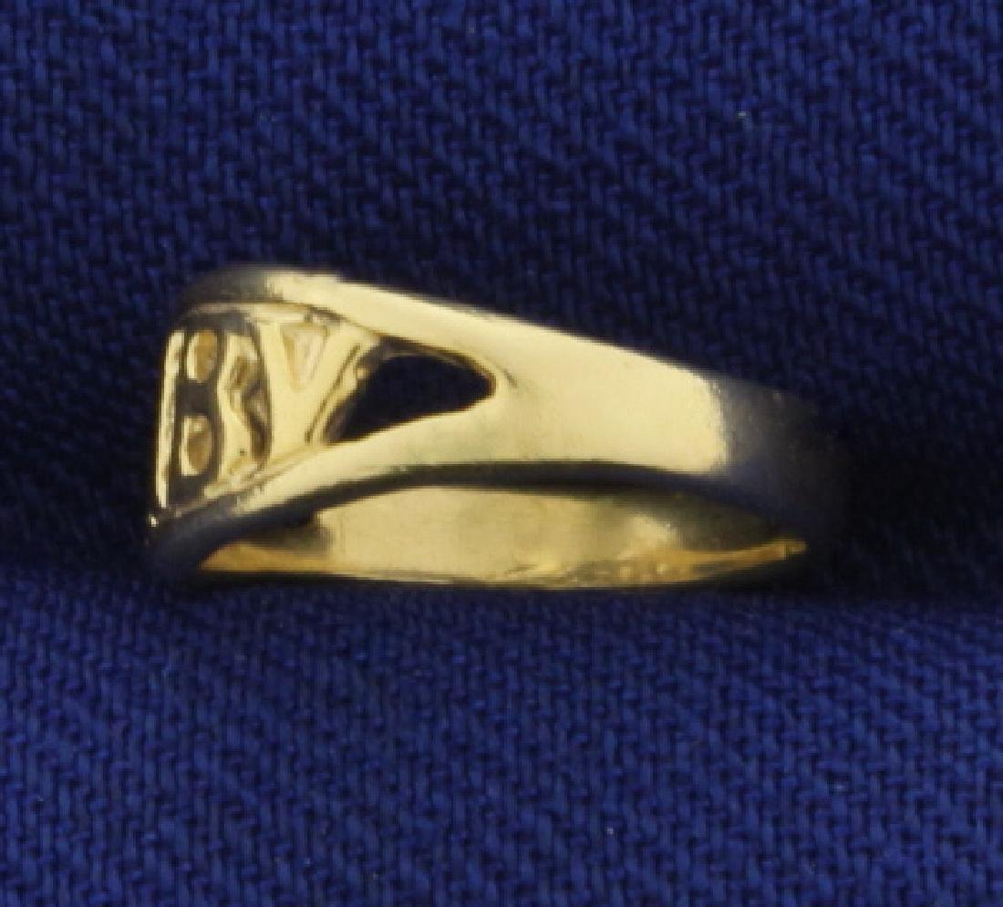 Baby Childs Ring in 14K Yellow Gold - 2