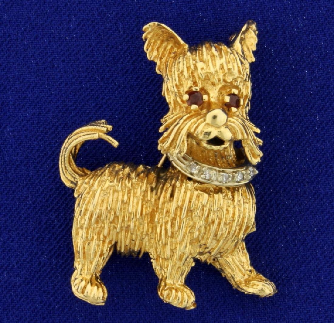Yorkie Yorkshire Terrier Pendant