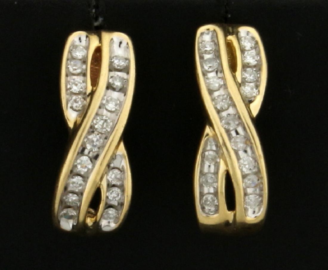 1/3ct TW Diamond Earrings